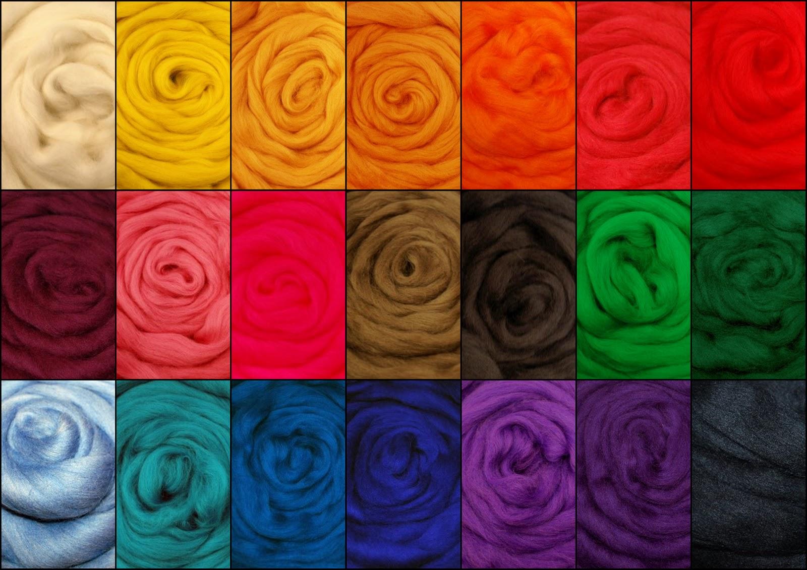 Rastas de lana de colores rastasnaturales for Mantas de lana de colores